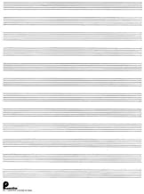 [(Musipack 3 Ring Filler No. 1: 12-Stave: Passantino Manuscript Paper)] [Author: Hal Leonard Publishing Corporation] published on (January, 1992)