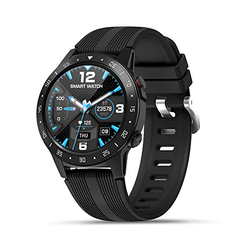 Anmino Smart Watch (GPS +Barometer+Altimeter+Compass),Full HD Touchscreen,All-Day Heart Rate and Activity Fitness Tracker,Pedometer,Calorie Counter,Sleep Tracker,Bluetooth smartwatch
