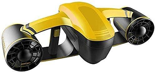 WBJLG Impulsor subacuático, hélice subacuática, propulsor subacuático Auto-nadante, Sumergible, Scooter subacuático