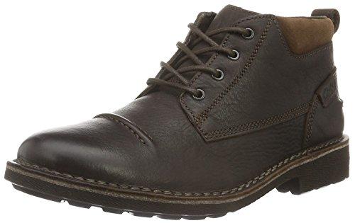 Clarks Herren Lawes Top Kurzschaft Stiefel, Braun (Brown Warm Lined Leather), 41.5 EU