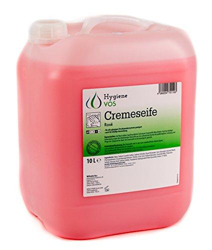Hygiene VOS Savon Liquide 10 litres pour les Mains pH Neutre pour une Utilisation Quotidienne. Formule Extra Douce et Ingrédients Biodégradables