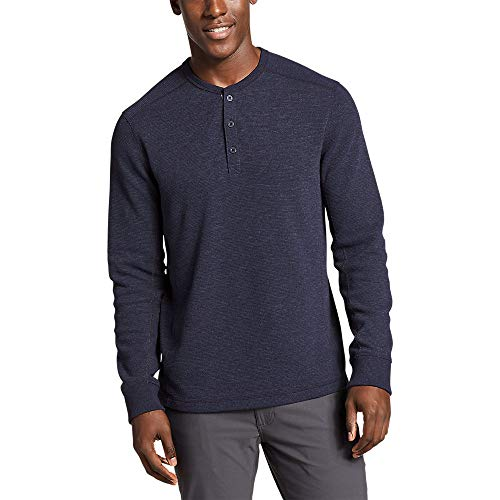 Eddie Bauer Men's Eddie's Favorite Thermal Henley Shirt