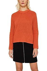 ESPRIT Damen 129Ee1I007 Pullover, 815/BURNT ORANGE, XL