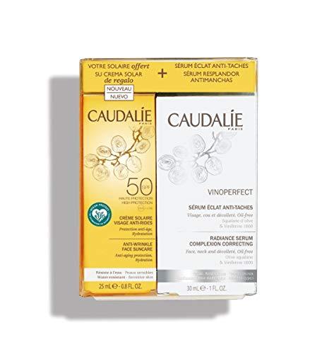 Caudalie Cofre Bronceado perfecto Vinoperfect Serum 30ML + Protección Facial Antiarrugas 25 Ml EDICIÓN 2019