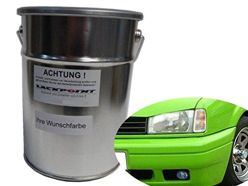 Lackpoint 0,5 Liter Spritzfertigen Basislack Kawa Grün Autolack Giftgrün Trend