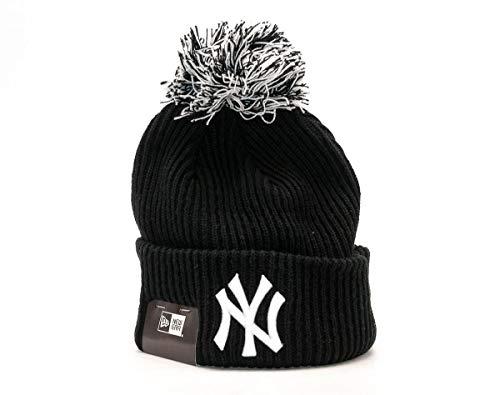 New Era MLB Short Bob Neyyan Blk - Gorra Línea York Yankees para Hombre, Color Negro, Talla OSFA