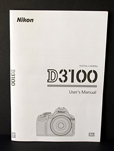 Nikon D3100 User's Manual