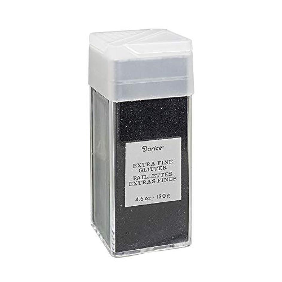 Darice 30029660 Extra Fine Ebony, 4.5 Ounces Glitter,