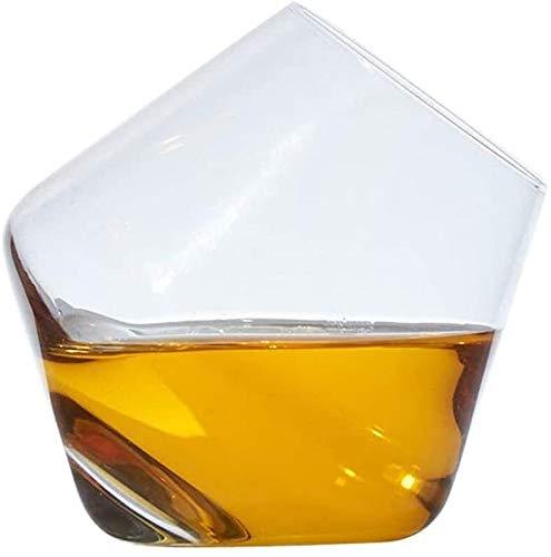 WJJ Botella de Whisky Cristal Decantador De Vino Moda Creativa Sin Plomo Cristal Vidrio Forma De Vaso De Vidrio Rápido Decantador Rojo Vidrio Vidrio Whisky Vidrio Batido Taza Vino Decanter Hogar Decan