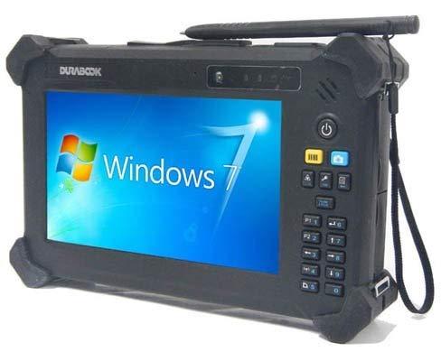 Durabook T7Q Tablet, 7 Zoll (17,8 cm), Touchscreen, 4G, GPS, 2 Batterien, Windows 7 Pro,...