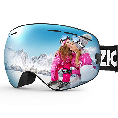 ZIONOR XMINI Kids Ski Snowboard Snow Goggles UV Protection Anti-Fog