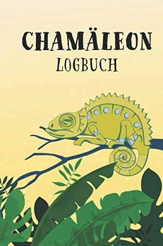 Chamäleon Logbuch: Logbuch und Terrarium Planer mit Futter Tracking für die Haltung von Chamäleons | Reptilien Tagebuch und Notizbuch | 6x9 Zoll (entsprich A5)