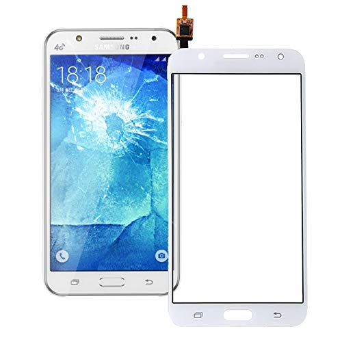 LCD-scherm, mobiele telefoon repareren delen van Touch Panel Screen Display Flex kabel voor Samsung Galaxy J7 / J700, Kleur: wit
