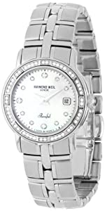 Raymond Weil Women's 9441-STS-97081 Parsifal Mother-Of-Pearl Dial Watch