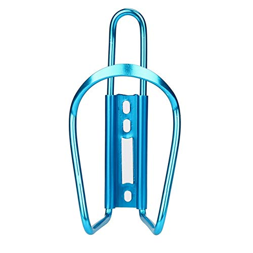 QFDYEQF128 Bicycle Accessories New Aluminum Alloy Simple Bike Drink Water Bottle Rack Holder Cage Bicycle Parts Cycling Bottle Holder FIYRPKOO (Color : Blue)