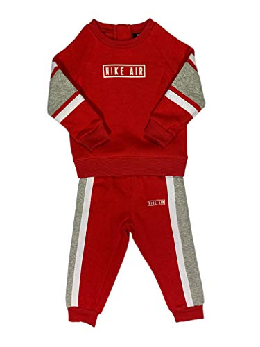 Nike Air - Chándal infantil rojo 92/98 cm(2-3 años)