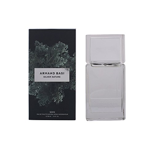 Armand Basi – Silver Nature Eau de Toilette avec Vaporisateur 100 ml – Femme