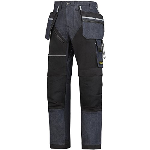 Snickers Workwear 6204 RuffWork Denim werkbroek + m. HP, 46 52 EU denim