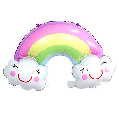 perfeclan Sonrisa Cara Nube Globo Iris Globo aerostático para Baby Shower cumpleaños