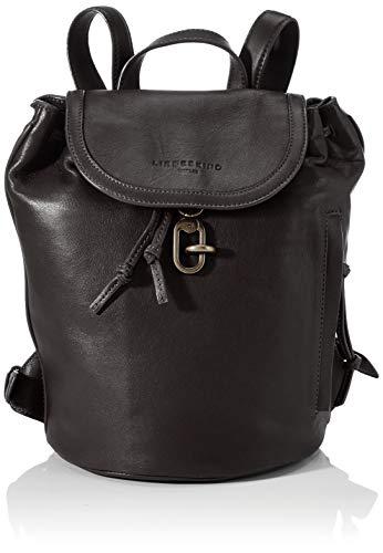 Liebeskind Berlin Rucksackhandtasche, Grace Backpack, Small, black
