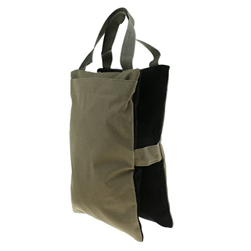 F Fityle Foldable Sandbag for Teleconverters Microphones - Amry Green, as described