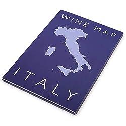 Wine Map Of Italy – De Long Maps