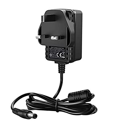 UGREEN DC Power Supply 12V 2A, AC 100-240V to DC 12V Power Cable Transformer Wall Charger Replacement UK Plug with 1.5m Cable,5.5mm x 2.1mm Jack for Led Strips,CCTV Camera,Cisco Router,Yamaha Keyboard