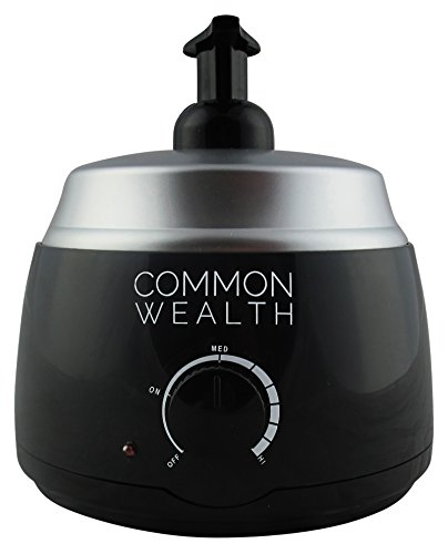 Common Wealth Professional Deluxe Hot Lather Machine Barber Latherizer King Size Black Color With Bonus 100% Badger Shaving Brush & 8oz Lather Concentrate
