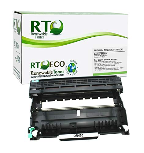 Renewable Toner Compatible Laser Imaging Drum Unit Replacement for Brother DR450 DR-450 HL-2230 2240 2270 MFC-7360 7460 7860 DCP-7060 7065