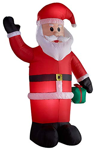 Gartenpirat Illuminato Babbo Natale Gonfiabile - LED Altezza di 240 cm