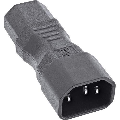 InLine® Netzadapter IEC 60320 C14 / C13, 3pol. Kaltgeräte