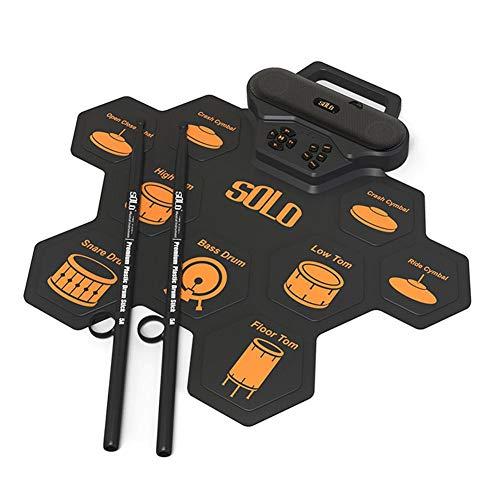 Juego De Batería Electrónica,Kit De Batería Eléctrica Portátil De 9 Pads Con...