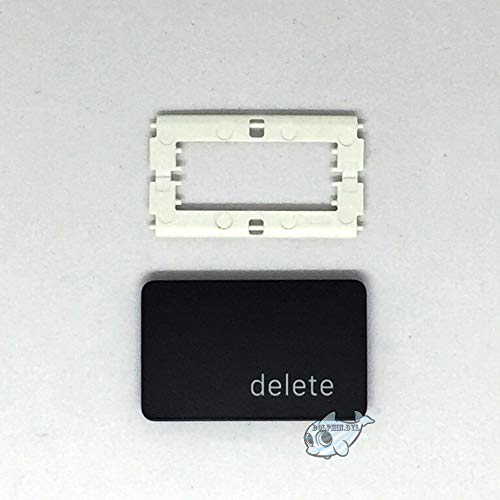 Dolphin.dyl(TM) Replacement Individual Key Cap for US MacBook Pro A1706 A1707 A1708 Key Cap with Hinge Delete Key