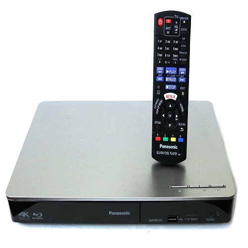 Panasonic: DMP-BDT270 4k Up-scaling Multi-format Blu-ray DVD Player Built-in 4K(UHD) Up-scaling