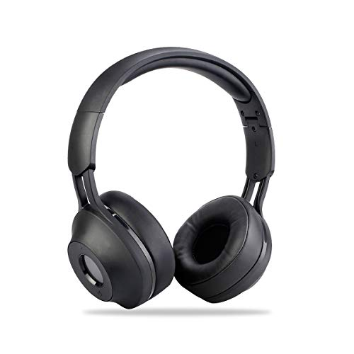 Retekess TR104 Portable FM Radio Earmuff, FM Stereo Noise Cancelling Radio, Personal FM Receiver for Mowing, Walking, Daily Works Powered by AAA Battery