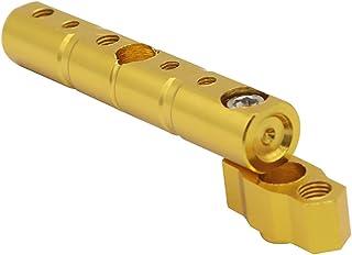 VORCOOL Resistente Suporte de Motocicleta Veículo Elétrico Rack de Suporte Do Telefone Móvel (Amarelo)