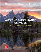 Auditing & Assurance Services: A Systematic Approach