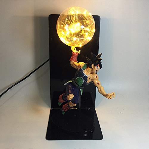 Preisvergleich Produktbild YSDNI Anime Dragon Ball Z Son Goku Für Kreative Mit Nachttischlampe Super Saiyan LED Nachtlicht Geschenke Lampe Spielzeug, Zimmer Tischlampen Home Decoration DIY-Anwendbar Auf Weihnachts