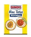 Bimbo Mini Tostas Redondas 100 gr, Pack de 24