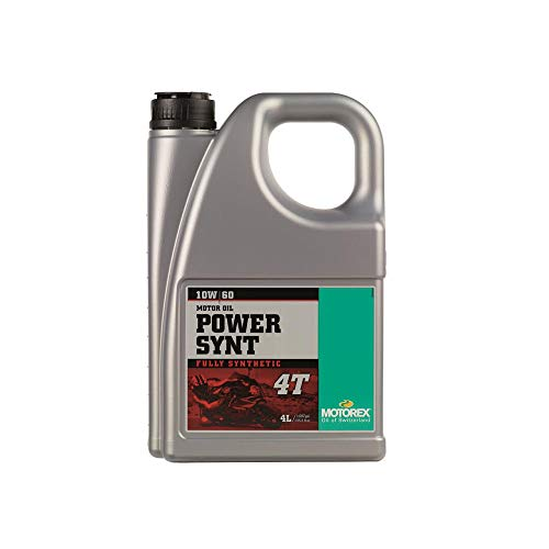 Motorex motorolie Power Synt 4T 10W60 100% synthetisch 4L