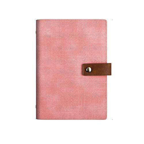 XXT Cuaderno de notas de estudio simple y grueso, para oficina (color: rosa, tamaño: 16,9 x 23,1 cm)