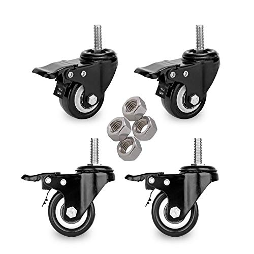 Best 3 1 2 inches stem casters review 2021 - Top Pick