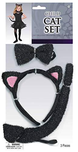 amscan 841017-55 Accessoire-Set Katze, Mehrfarbig, Einheitsgröße
