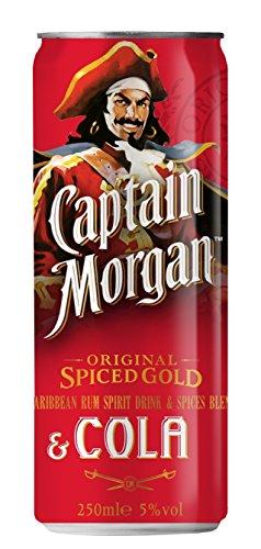 Captain Morgan Original Spiced Gold & Cola  (1 x 0.25 l)