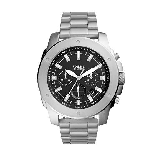 FOSSIL Reloj de cuarzo de acero inoxidable para hombre FS5716