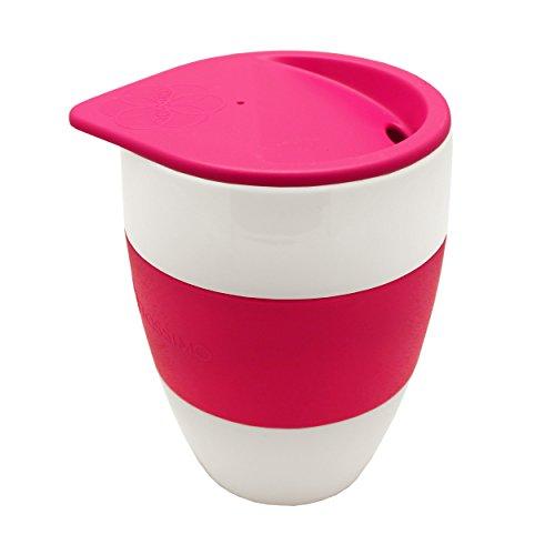 Tassimo Koziol Aromabecher To Go, Kaffeebecher, Kunststoff, Pink, 400 ml