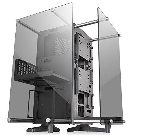 Thermaltake Core 強化ガラス ATX オープンフレーム パノラミックビューイング Tt LCS認証 ゲームコンピューター ケース CA CA-1J8-00M1WN-00