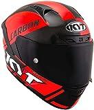 KYT casco NX Race Carbon race-d Red flúor–S