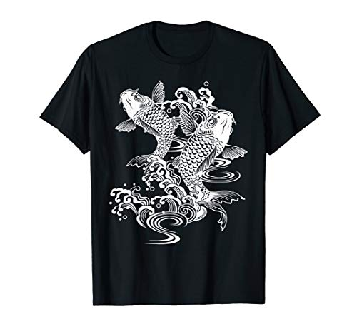 Koi Fish T shirt - Love Koi Fish Tshirt