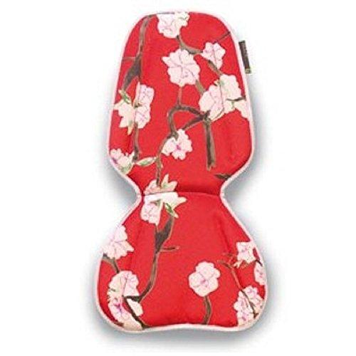BASIL Blossom Twig Inlay Large Rood Roze groot kussen voor kinderzitje fiets inleg fietszitje 50029